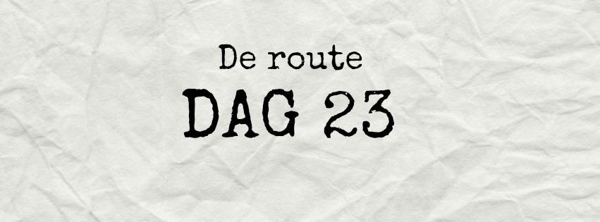 route dag 23