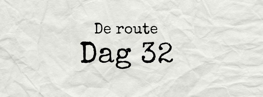 de route dag 32